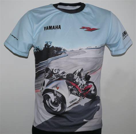 T Shirt Shirt Yamaha yamaha yzf r1 2009 t shirt with logo and all printed