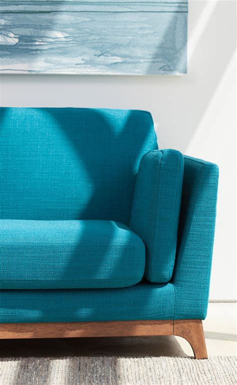 teal color sofa 17 best ideas about turquoise sofa on