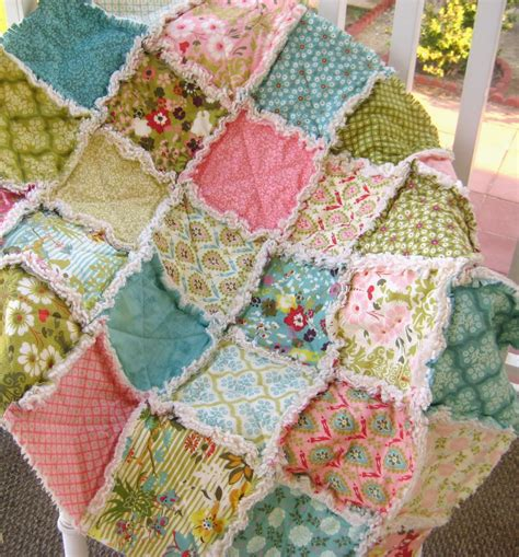 How Much Fabric For A Rag Quilt by Quilts I Mytutorlist