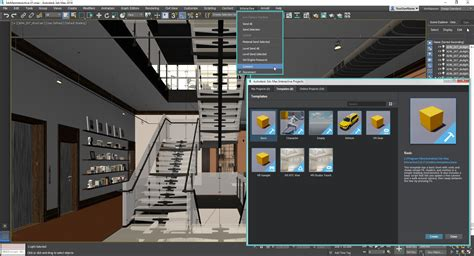 3d max 3ds max interactive 3d to vr aec scene