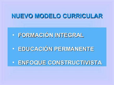 Modelo Curricular Constructivista Paradigmas13