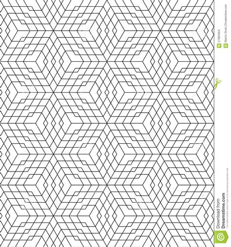 pattern grid vector black and white seamless pattern grid stock vector image