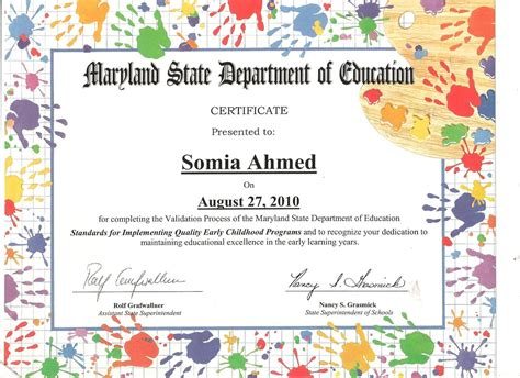 templates for children s certificates my resume elementary school counseling