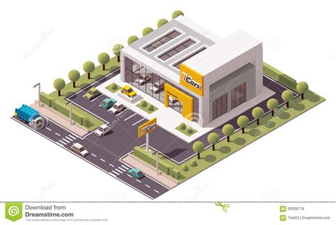 Garage Designs And Prices vector car showroom stock vector image 58339778