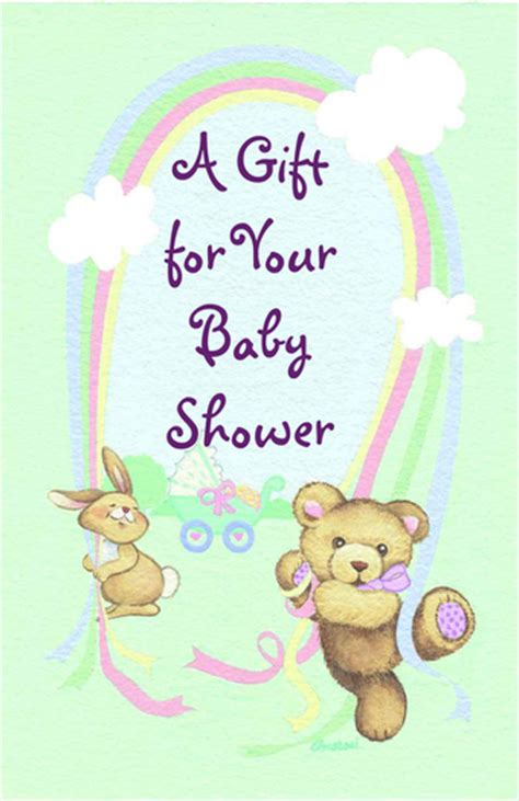 second marketplace baby shower greeting card