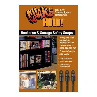bookcase and storage strap quakehold bookcase and storage strap 5040 the home depot