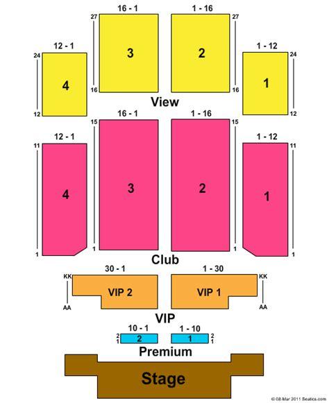 emerald casino seating chart cheap emerald casino tickets