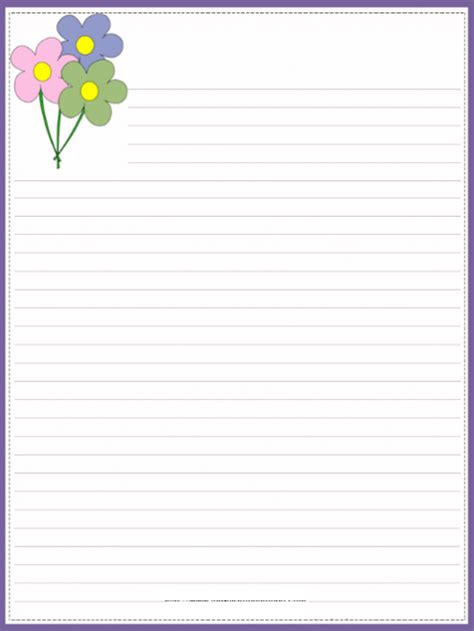 Free Printable Stationary With Lines free printable stationary with lines borders