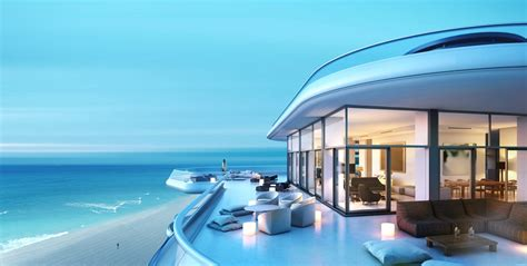 beach side house faena house miami beachside penthouse with layers of luxury