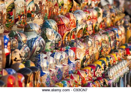 of dolls moscow matrioshkas russian dolls moscow russia stock photo