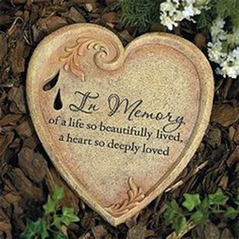 Garden Rocks With Sayings In Remembrance Quotes On Garden Stones Memorial Stones And Memories