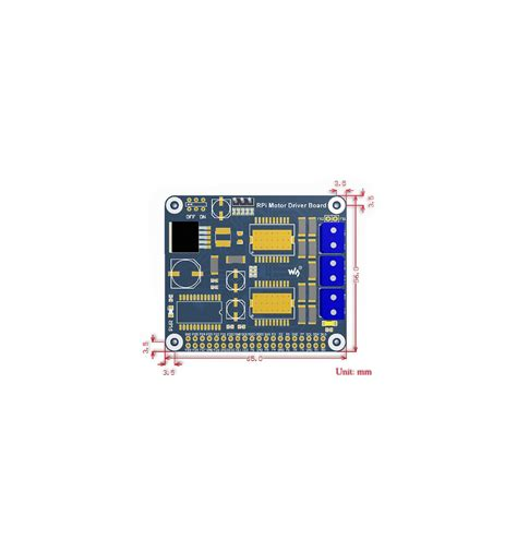 rpi board rpi motor driver board diyelectronics