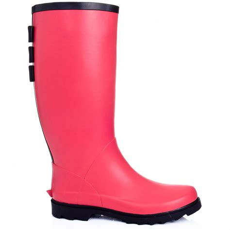 buy arctic flat festival wellies boots flower