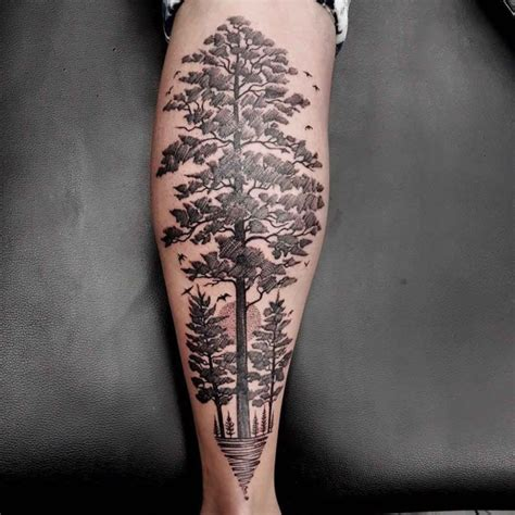 linework tattoo tree best tattoo ideas gallery