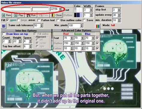 wandlen länglich subrip grafische dvd untertitel in textuntertitel