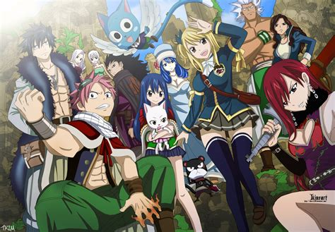 fairy tail manga fairy tail anime characters