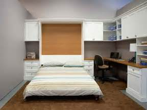 Murphy Bed With Desk Attached Murphy Bed Ideas Attached To Desk For Lodging Houses