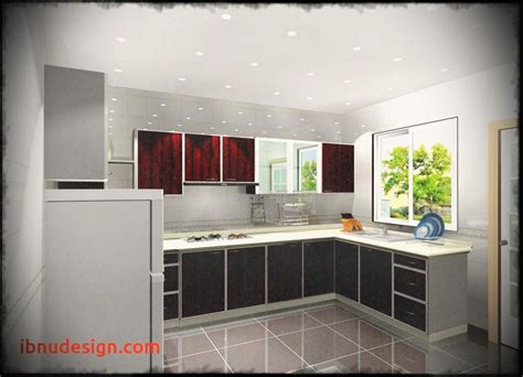 interior design of kitchen room image of design middle class family modern kitchen