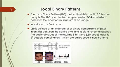 pattern classification based on fuzzy relations ppt fuzzy lbp for face recognition ppt