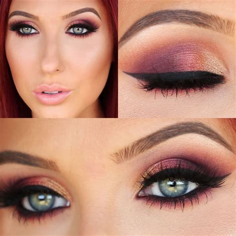 natural makeup tutorial jaclyn hill ombre sunset smokey eye jaclyn hill on youtube this is my