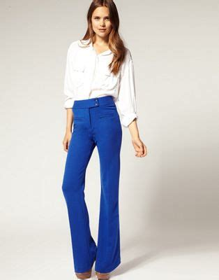 Asos Tailored Slim Trouser asos asos tailored ponti high waisted slim flare trousers