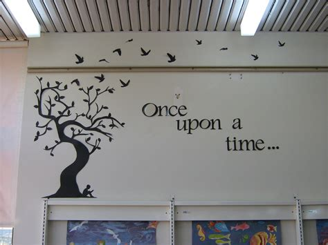 wall decor for library grow the readers haven