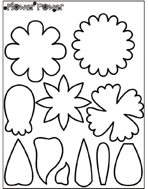 crayola coloring pages flowers flower power 1 coloring page crayola com