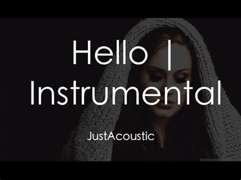 download hello adele mp3 high quality hello adele acoustic karaoke instrumental downvideo