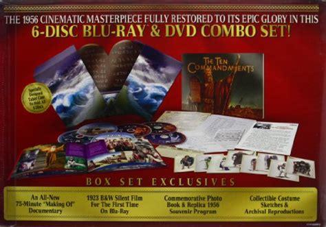 The Ten Commandments Gift Set the ten commandments six disc limited edition dvd combo gift set new 97361434940 ebay