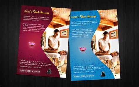 massage flyer by amaru7 on deviantart