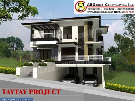 modern zen house plans modern zen house designs philippines modern asian residential facade pinterest
