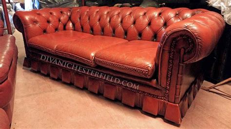 ladario rosso divani chesterfield prezzi divani chester noleggio