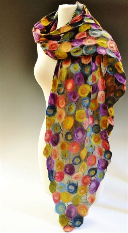 tessa by elizabeth rubidge felted scarf available at www