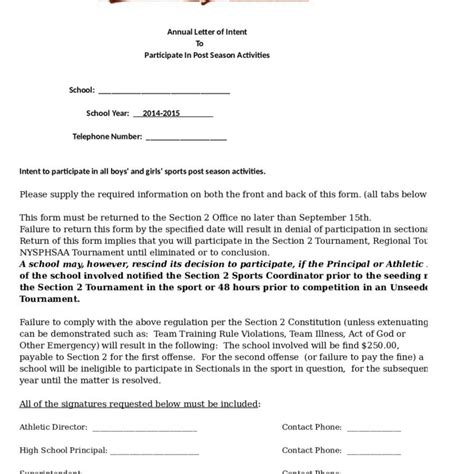 Letter Of Intent Content amazing exle of letter of intent letter format writing