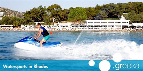 watersports in rhodes island greeka - Water Scooter Athens