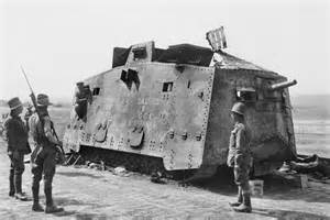 Gembok Crown Panzer 80 Mm sole surviving german a7v world war i tank goes on display