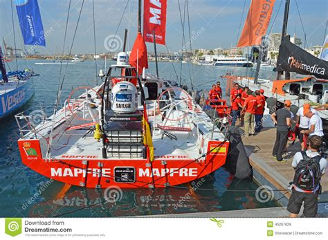boat time in spanish the spanish boat mapfre before the start of the 2014 volvo