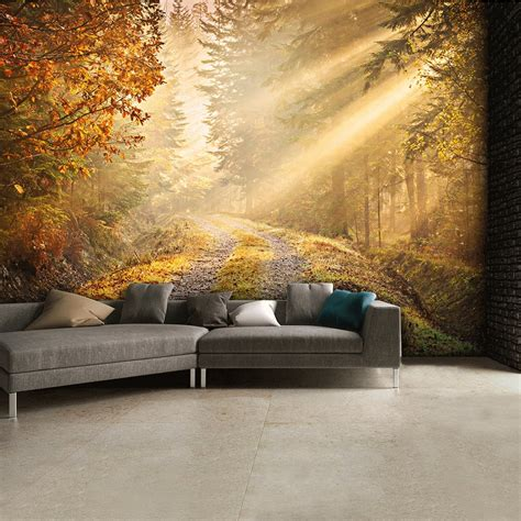 woodland wall mural autumn forest woodland wall mural 315cm x 232cm