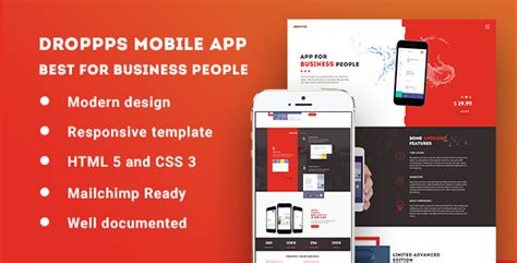 droppps mobile app theme traclaborat