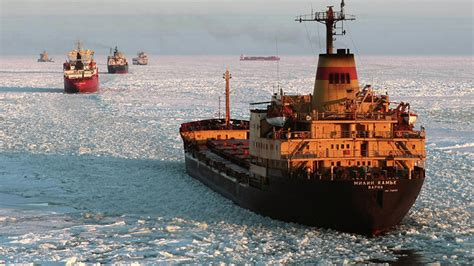 russian arctic route shipping to increase to 100mn tons rt business news