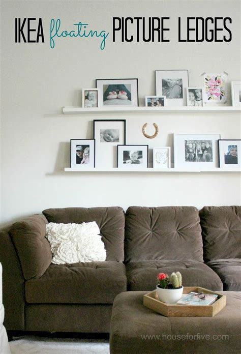 ikea picture shelves picture ledges photo gallery tips and a giveaway
