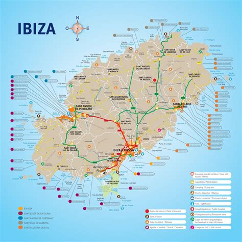 Dining Room Tables San Antonio by Ibiza Town Map Image Mag