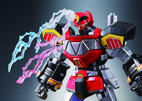 Ssk Power Ranger Robot Figure tamashii nations bringing robot chogokin megazord to