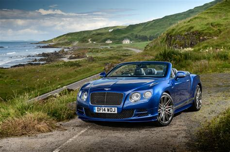 bentley roadster 2015 2015 bentley continental gt speed convertible front three