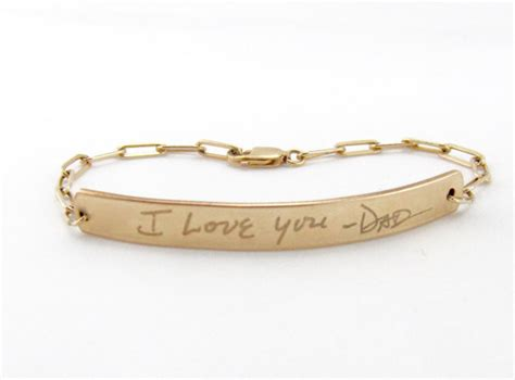 personalized gold engraved bracelet gold bar bracelet
