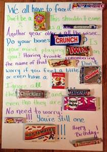 Get Well Soon Basket Ideas 1000 Ideas About Birthday Candy Posters On Pinterest Candy Posters Candy Poster Board And