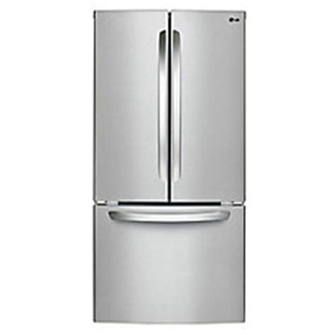 lg 24 cu ft door refrigerator in stainless steel