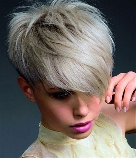 very short edgy haircuts for women with round faces edgy short haircuts for women