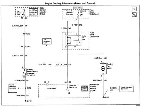 2002 chevy cavalier radiator fan not working 2001 cavalier 2 2 w 5 speed fan on radiator will