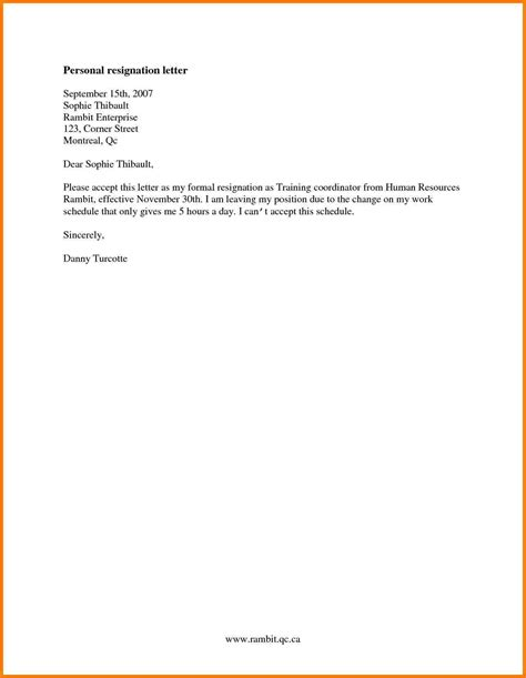 How To Write A Letter Of Resignation Email by 8 How To Write A Resignation Letter For Work Letter Format For